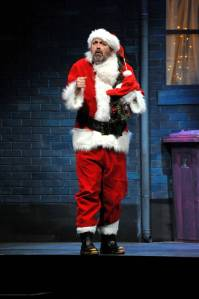 Roy Carruthers as Drunk Santa Claus in Night Collar (picture taken by Dave Evans)